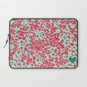 Animal Print Pink Laptop Sleeve
