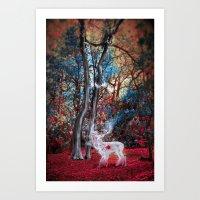 Blood Deers: Royal Art Print