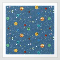 Out Of This World Cuteness Art Print