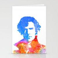 sherlock Stationery Cards featuring Sherlock by Fimbis