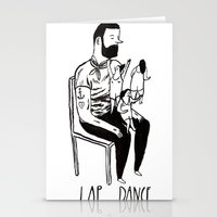 Lap Dance Stationery Cards