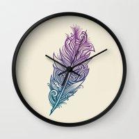 Supreme Plumage Wall Clock