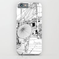 iPhone & iPod Case featuring Kyoto - the old city by parisian samurai studio