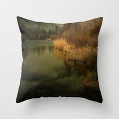 Still Ruht der See Throw Pillow