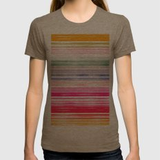 Waves 1 Womens Fitted Tee Tri-Coffee SMALL