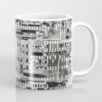 Exploiting Digital Behavior (P/D3 Glitch Collage Studies) Mug