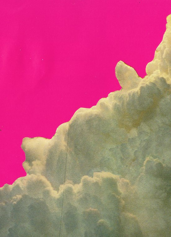 collage Collaboration with Hugo Barros Art Print