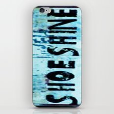 Shoe Shine  iPhone & iPod Skin