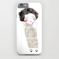 iPhone & iPod Case featuring Kimono by munieca