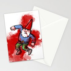 Crushed Gnome Stationery Cards