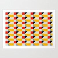 Crispijn II Pattern Art Print