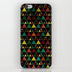 Hills & Trees at night iPhone & iPod Skin