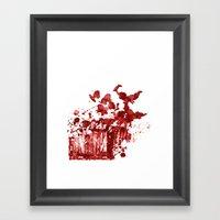 Cherub Massacre Of 2000 Framed Art Print