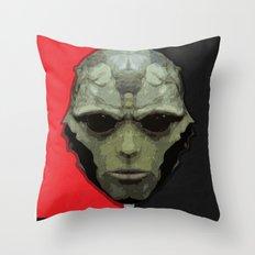 NEVER FORGET - Thane Krios - Mass Effect Throw Pillow