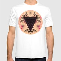 C.W. xxvii Mens Fitted Tee White SMALL