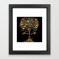 Atomic Butterfly Framed Art Print