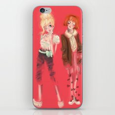Valérie & Pomme iPhone & iPod Skin
