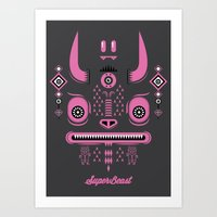 Super Beast Art Print