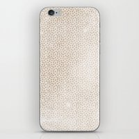 Creamy Dots iPhone & iPod Skin