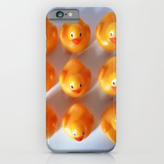 Rubber Ducks in a Row iPhone 6 Slim Case
