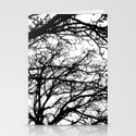 black tree Stationery Cards