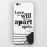 Joy Divided iPhone & iPod Skin