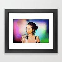 Khelani Framed Art Print
