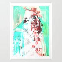 Edge of My Seat Art Print