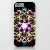 iPhone & iPod Case featuring Digital Mandala by Vargamari