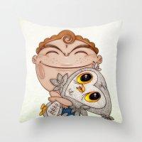 Búho Throw Pillow