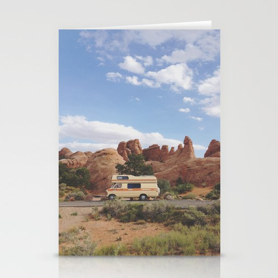 Rock Camper Stationery Card