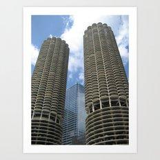 chicago (one) Art Print