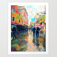 Bella Venezia VI Art Print