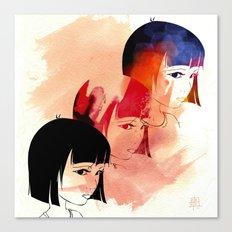 Red Child. Canvas Print