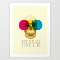 CYCLE Art Print