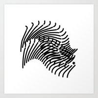Zebra Sonnet Art Print