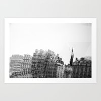 I dreamt in black and white once Art Print