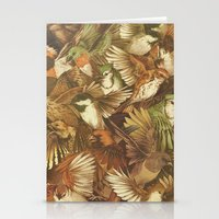 Red-Throated, Black-capped, Spotted, Barred Stationery Cards