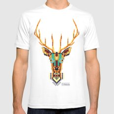Bambi Stardust SMALL White Mens Fitted Tee