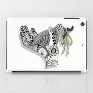 Zentangle Illustration -… iPad Case