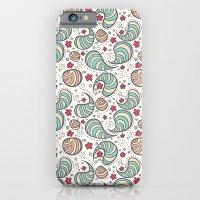 Strange bacterias iPhone 6 Slim Case