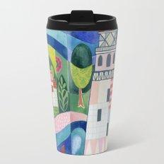 Island Lighthouse Travel Mug
