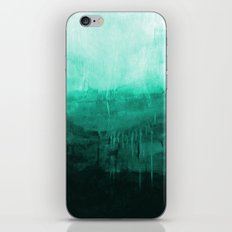 Paint 8 abstract minimal modern water ocean wave painting must have canvas affordable fine art iPhone & iPod Skin