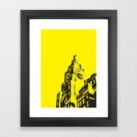 Liver buildings Framed Art Print