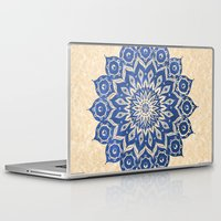 hand Laptop & iPad Skins featuring ókshirahm sky mandala by Peter Patrick Barreda