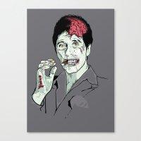 Zombie Al Pacino Scarfac… Canvas Print
