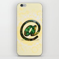 At Sign {@} Series - Cooper Std Typeface iPhone & iPod Skin