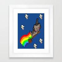 Nyan McGonagall Framed Art Print