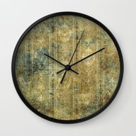 Wall Clock featuring Pattern by Nicky2342