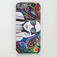 iPhone & iPod Case featuring Think in Technicolor by Denise Esposito